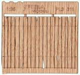 Wooden fence 1:35 - type 11
