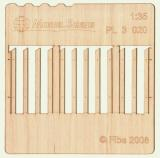Wooden fence 1:35 - type 20