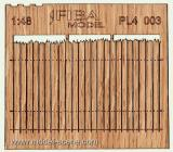 Wooden fence 1:48 - type 3