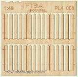 Wooden fence 1:48 - type 8