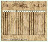 Wooden fence 1:48 - type 14