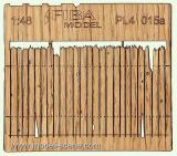 Wooden fence 1:48 - type 15