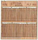 Wooden fence 1:72 - type 2