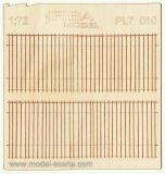 Wooden fence 1:72 - type 10
