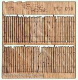 Wooden fence 1:72 - type 15