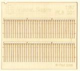 Wooden fence 1:87 - type 1