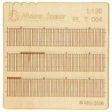 Wooden fence 1:120 - type 4