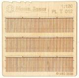 Wooden fence 1:120 - type 12
