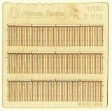 Wooden fence 1:120 - type 13