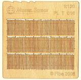 Wooden fence 1:120 - type 16