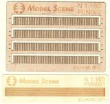 Wooden fence 1:160 - type 2