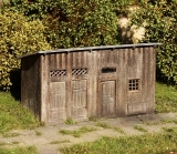 Shed for materials 1:87 (kit)