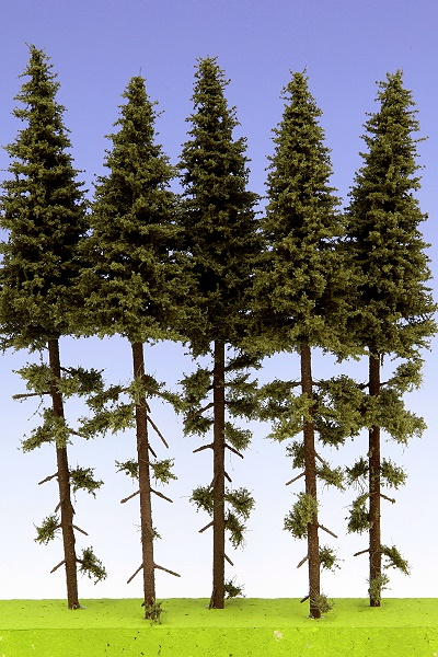 Spruce with trunk 200 mm (5x)
