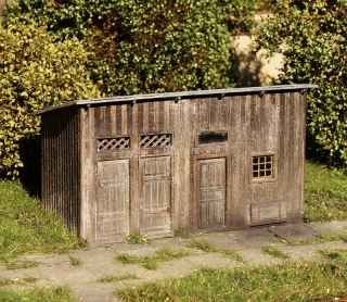Shed for materials 1:160 (kit)