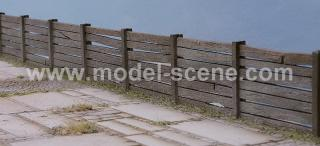 Concrete Fence Type II.