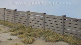 Concrete Fence Type I. (1:120)