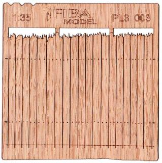 Wooden fence 1:35 - type 3