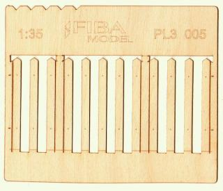 Wooden fence 1:35 - type 5