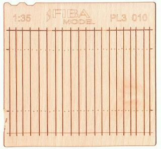 Wooden fence 1:35 - type 10