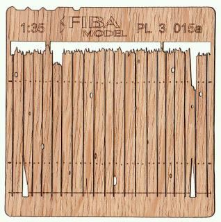Wooden fence 1:35 - type 15
