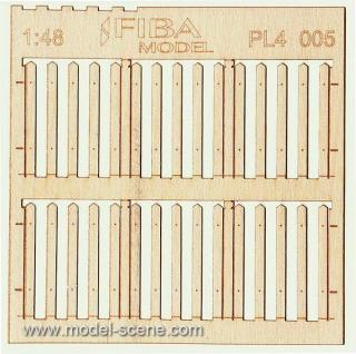 Wooden fence 1:48 - type 5