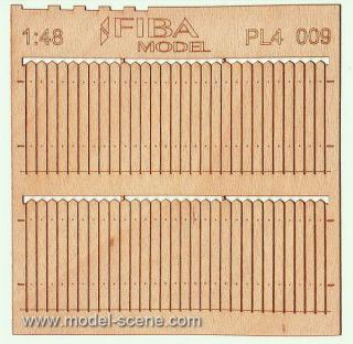 Wooden fence 1:48 - type 9