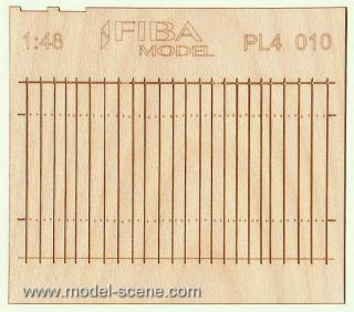 Wooden fence 1:48 - type 10