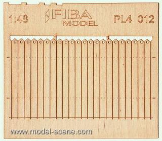 Wooden fence 1:48 - type 12
