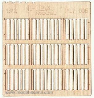 Wooden fence 1:72 - type 5