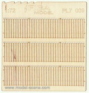 Wooden fence 1:72 - type 9