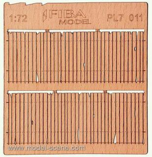 Wooden fence 1:72 - type 11