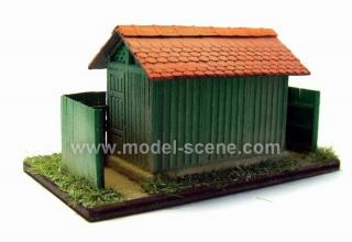 Railway toilet type III. 1:87