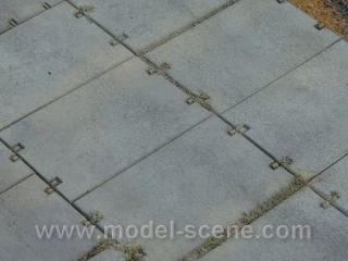 Concrete panels 1:160 type III. (19 x 12 mm)