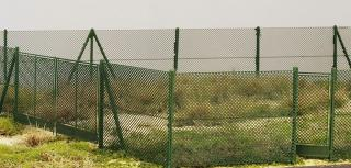 Chain mesh gate and fences 2m, 1:72/1:87