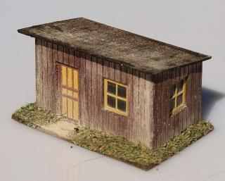 Country station - brown 1:160