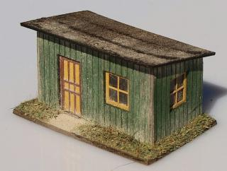 Country station - green 1:160