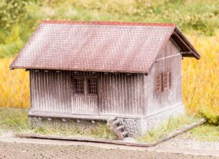 Railway wooden storage - kit TT