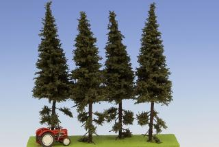 Spruce with short trunk 150 mm (4x)