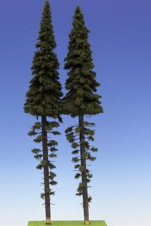 Spruce with trunk 400 mm (2x)