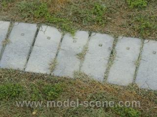Concrete panels 1:160 type I. (19 x 6 mm)
