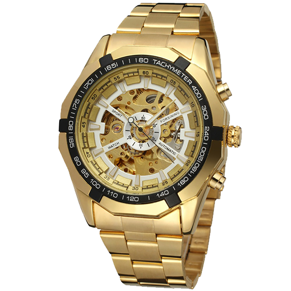 Gold Watch Sun0x8