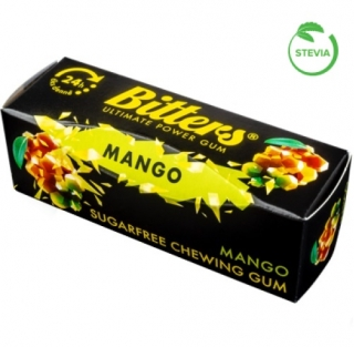 Bitters energy chewing gum 6 pack mango
